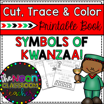 Quot Symbols Of Kwanzaa Quot Cut Trace And Color Printable Book