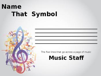 Symbols of Music Notation