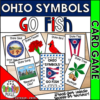 Symbols of Ohio Go Fish Game