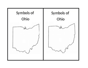 Symbols of Ohio Mini Coloring Booklet
