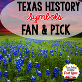 Symbols of Texas Fan and Pick Cooperative Learning Activity