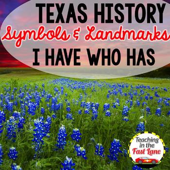 Symbols of Texas I Have Who Has