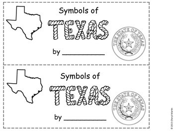 Symbols of Texas slide show and booklet