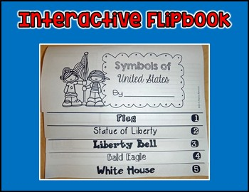 Symbols of USA  Interactive Flipbook
