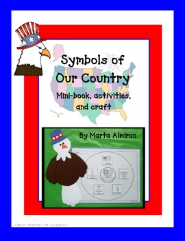 Symbols of United States - Mini-book, Craft, and Activities