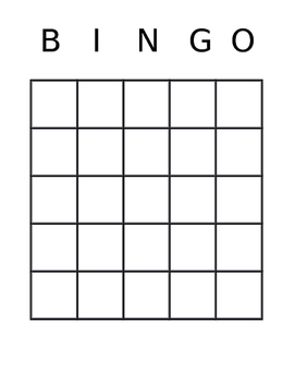 Symbols of the U.S.A Bingo Game
