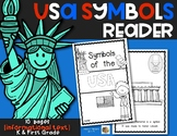 Symbols of the USA {Emergent Reader} for Kindergarten and First Grade