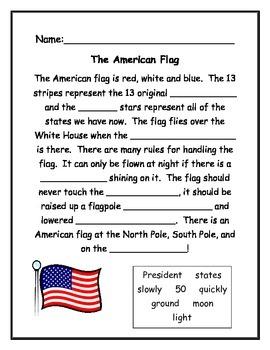 Symbols of the USA - Our Flag