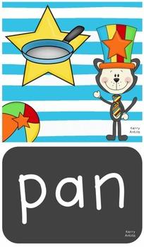 Cat, Hat, Mat- A Short Aa Literacy Center