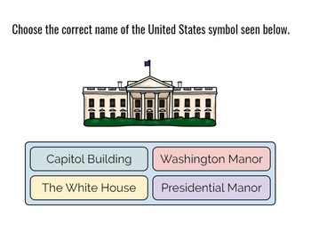 Symbols of the United States- Boom Cards