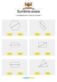 Symétrie axiale 5 -L'axe est-il un axe de symétrie de la figure ?