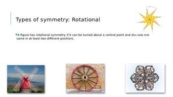 Symmetric Figures: Line and Rotation Symmetry