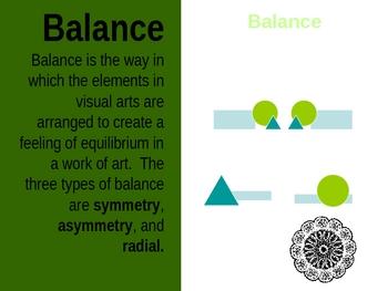 Symmetrical Balance Project PowerPoint