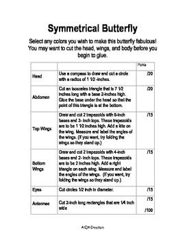 Symmetrical Butterfly- A Mathematical Masterpiece