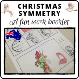 Symmetrical Christmas activities Australian version