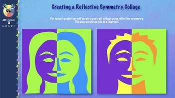 Symmetrical Portrait Collage