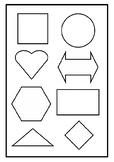 Symmetrical Shapes & Paper