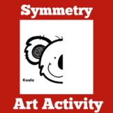 Symmetry Worksheet Drawing Activity