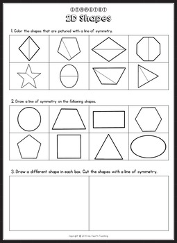 Symmetry worksheets and symmetry activities by isla hearts teaching symmetry worksheets and symmetry activities thecheapjerseys Images