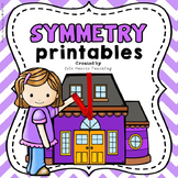 Symmetry Worksheets and Symmetry Activities