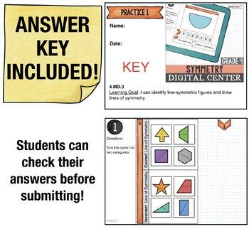 Symmetry - 4th Grade Digital Interactive Math Center