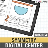 4th Grade Math Distance Learning: Symmetry Math Activities