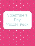 Valentine's Day Puzzle Pack.