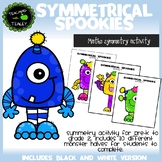 Math Symmetry Halloween Activity for Pre-K
