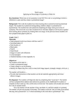 Symmetry - Art and Math