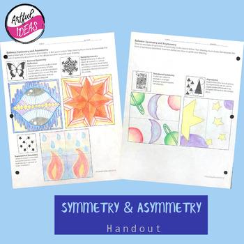 Symmetry/Asymmetry Handout