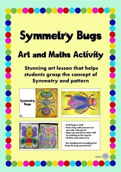 Symmetry Bugs Art & Pattern Activity