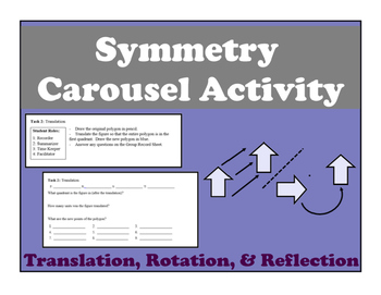 Symmetry Carousel Activity