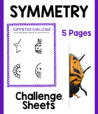 Symmetry Challenge Bundle:  5 Sheets!