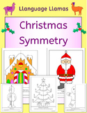 Christmas Symmetry Pictures - NO PREP fun