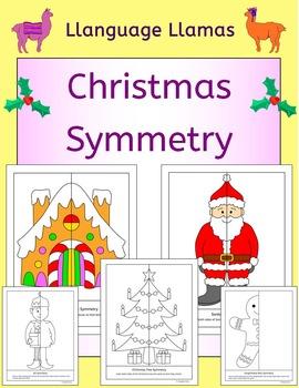 Symmetry - Christmas - NO PREP