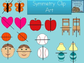 Symmetry Clip Art {Personal and Commercial Use}