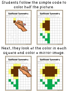 Symmetry Coloring ~ Nature