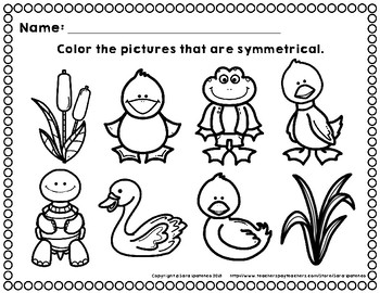 Symmetry Coloring Pages