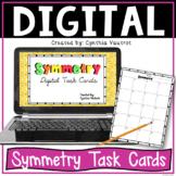 Symmetry Digital Task Cards for Google Slides