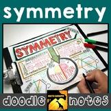 Symmetry Doodle Notes