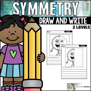 Symmetry - Draw and Write