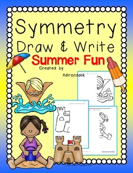 Symmetry Draw and Write Summer Fun