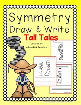 Symmetry  Draw and Write Tall Tales