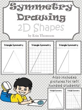Symmetry Drawing ~ 2D Shapes