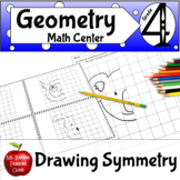 Geometry Drawing Symmetry Math or Art Activity