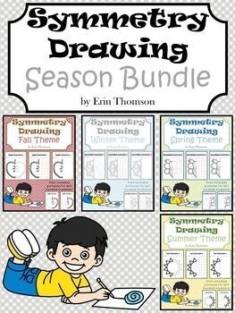 Symmetry Drawing ~ Season BUNDLE
