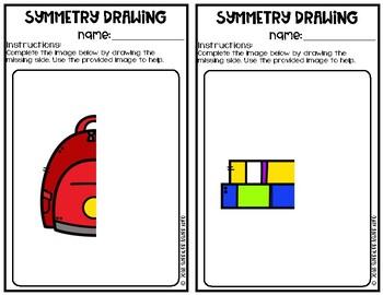 Symmetry Drawings | Back To School | Art