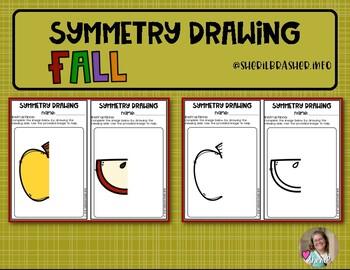 Lines of Symmetry Drawings   Fall   Art
