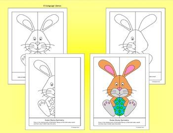 Easter Symmetry No prep geometry fun