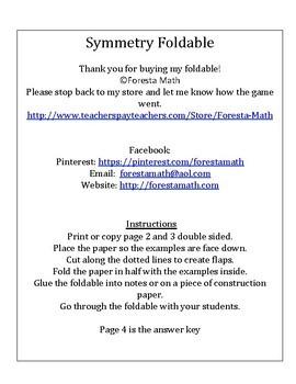 Symmetry Foldable